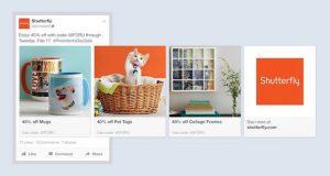 Multi-product Facebook Ad