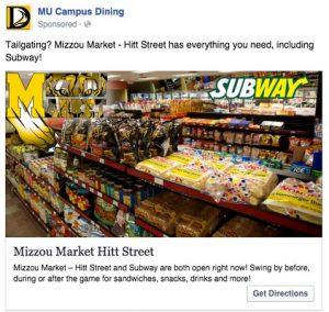 The local Facebook ad
