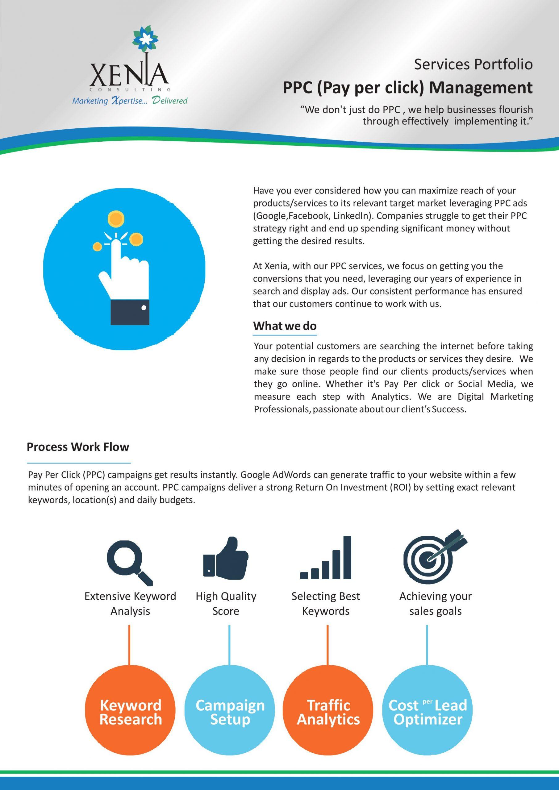 PPC (Pay per click) Management